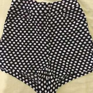 Mango Polkadot Shorts