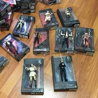 Star Wars Black Series Action Figures