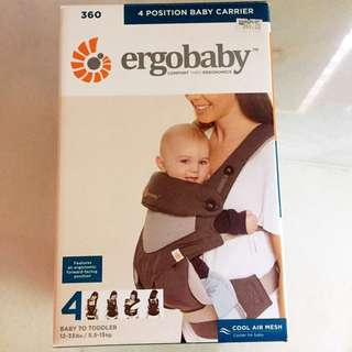 Ergobaby 360 baby carrier - carbon grey