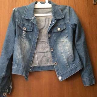 Crop Jeans Jacket