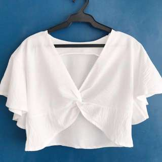 Knotted Crop Top (Shop Copper)