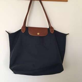 Authentic Medium Longchamp Bag