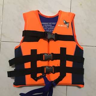 Life jacket 救生衣