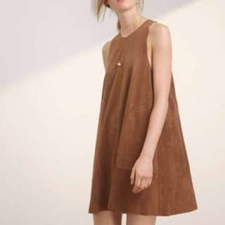 Wilfred Trompette Dress (XS, Taupe)