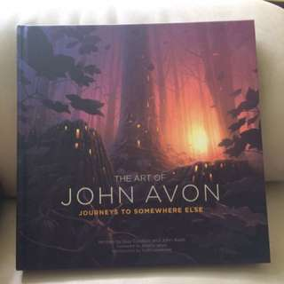 The Art of John Avon - Journeys to Somewhere Else Hardcover (Magic the Gathering MTG)
