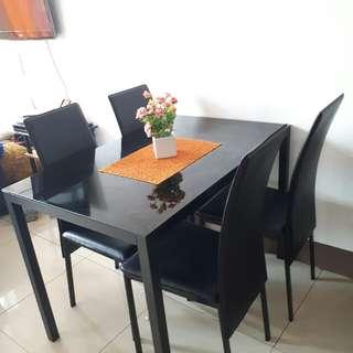 Rectangular Four Seater Dining Table