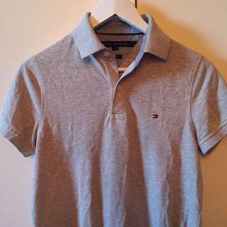 Tommy Hilfiger Gray polo