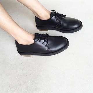 13thshoes Friday Ox Black Sepatu Hitam Oxford Shoes