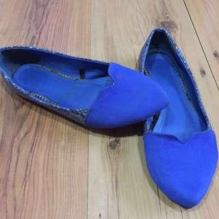Parisian Blue Shoes