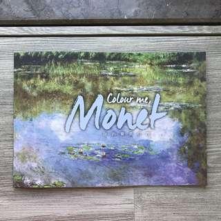 莫奈填色冊Monet colour book