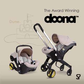 Doona - the next generation car seat + stroller