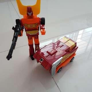 G1 Transformer Rodimus Prime Hasbro Takara 1986
