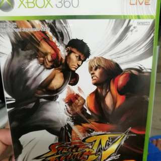 xbox360遊戲 street fighter
