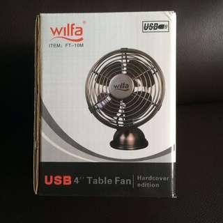 BN Wilfa USB Table Fan