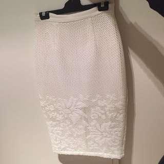 SHIEKE white skirt