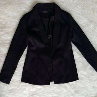 Black Jacquard Blazer