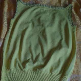 Knitted-Type Sleeveless