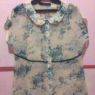 Maldita sheer blouse