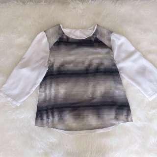 Accent Black Stripes Blouse