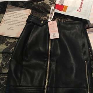 House Of CB Leather Skirt - RRP $150+