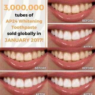 AP-24® Whitening Flouride Toothpaste