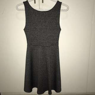 Grey Skater Dress (H&M)