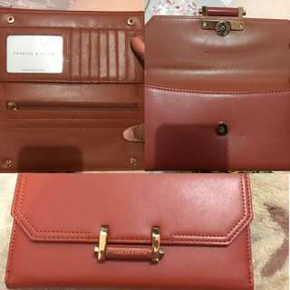 Women's wallet (pre loved) ❤️ original charles and keith