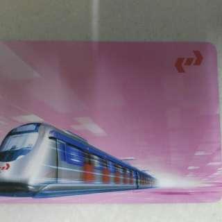 九鐵車票(粉紅版)