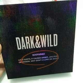 Bts Dark & Wild (團卡&jhope小卡) 送周邊