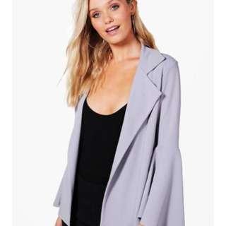Boohoo lilac blazer