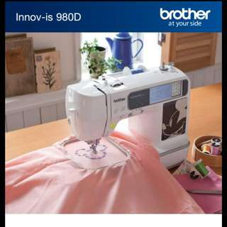 Sewing Machine BROTHER INNOV-IS 980D