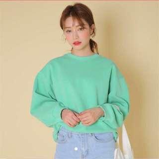 💚Tiffany green long sleeve