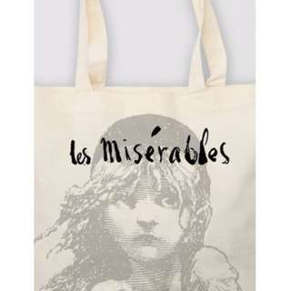 REDUCED in 2019! BN Les Miserables Canvas Tote Bag
