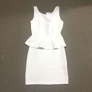 H&M peplum dress with tags!