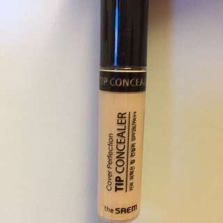 The Saem Cover Perfection Tip Concealer  完美遮瑕液 SPF 28 / PA++ 6.8g
