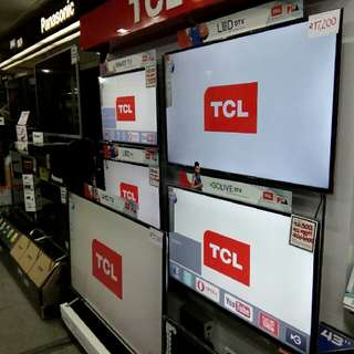 "TCL LED TV 2017 model 29"" to 75"" basic to quhd"