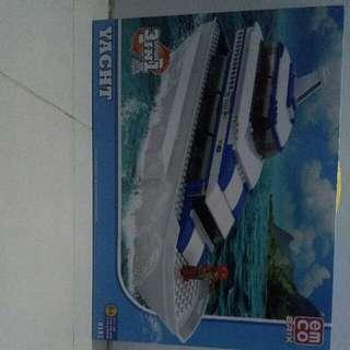 Lego Merk Emco Brix Yacht