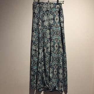 Izabel maxi skirt