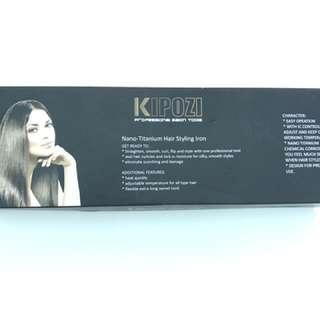 Kipozi nano-titanium hair styling iron