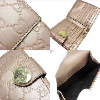 Blush Pink Gucci Wallet (with Box)