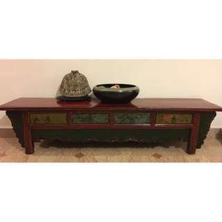 Antique Bench from Shanghai