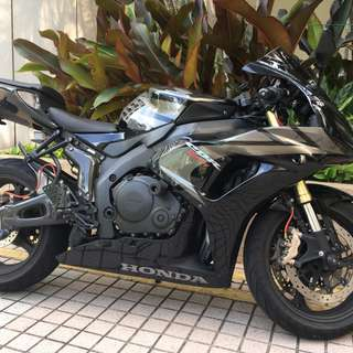 Honda CBR 1000RR (under utilized)