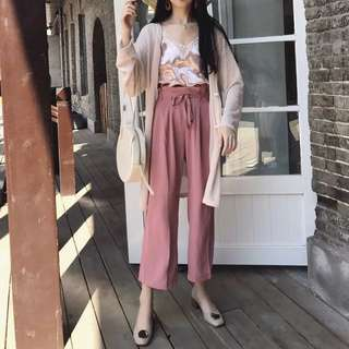Culotte Style Flowy Pants