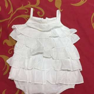Chateau de salle romper dress for 3 month old