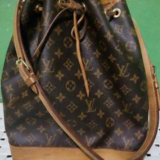 LOUIS VUITTON Vintage Noe Large Monogram Canvas  Authentic