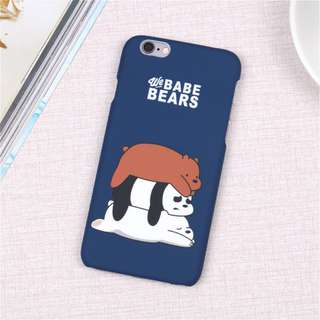 WEBAREBEARS cover(iphone6/6s/6plus only)
