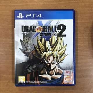 PS4 Dragon Ball Xenoverse 2 龍珠異戰2 (中文)