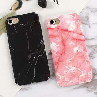 Marble phone cases(iPhone 6/6s/6plus/7/7plus ONLY)