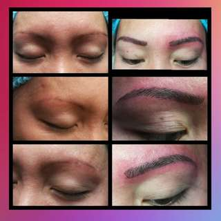 Eyebrow Embroidery and Lip Tattoo