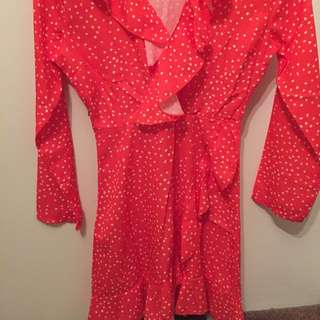 Red Dress size 6